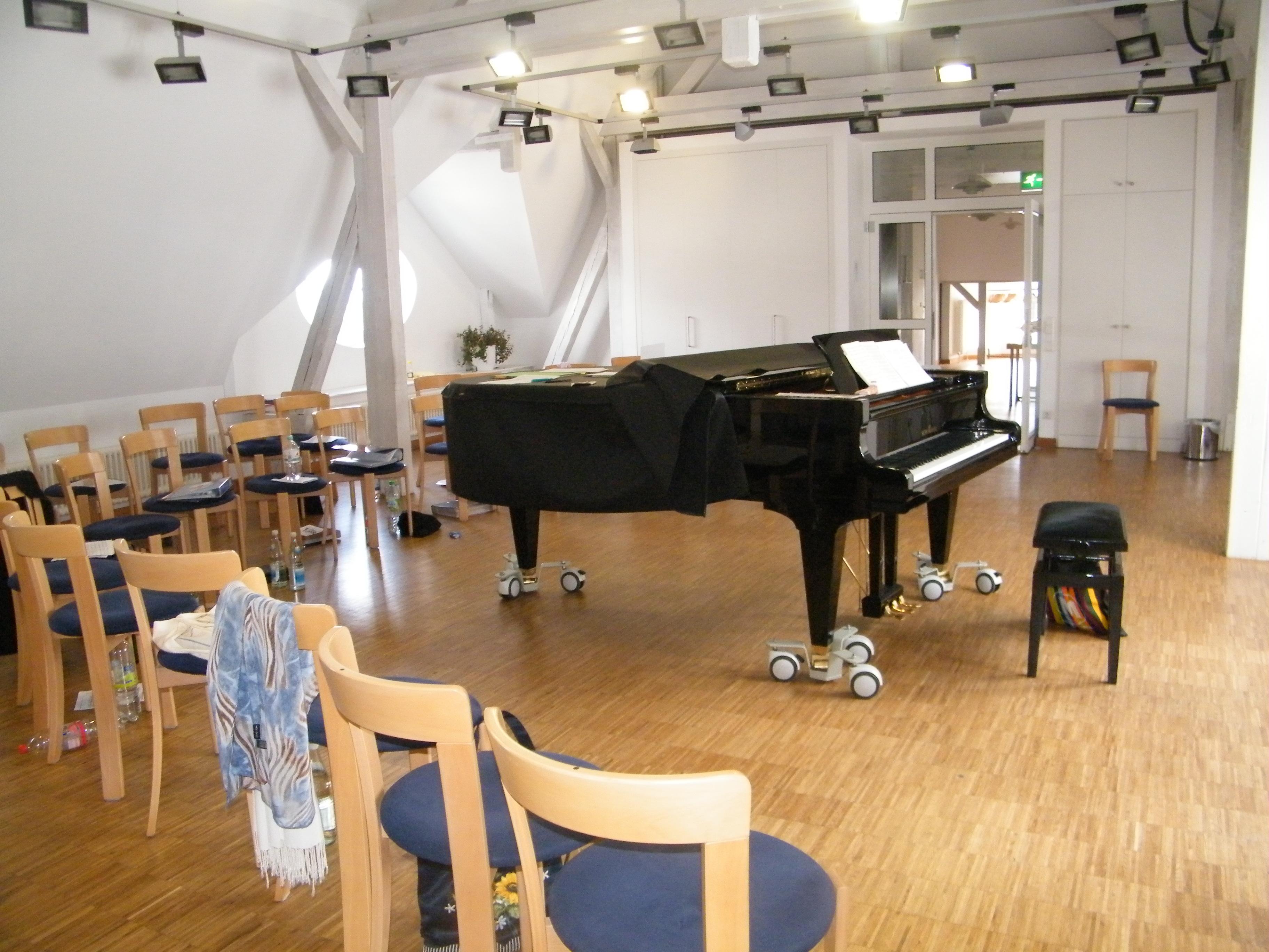 Probenraum der Landesmusikakademie