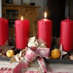 Adventskaffee   …die zweite Kerze brennt!