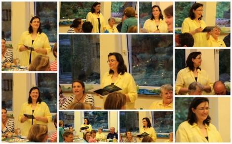 Geburtstagsfeier im Chor